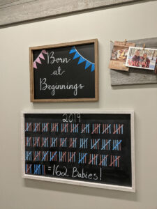 Statistics for Beginnings Birth Center's 1st Year